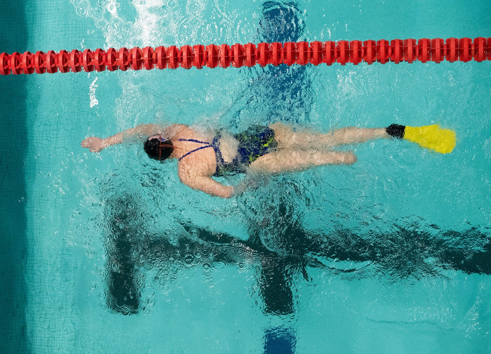 A Swimmer Saved By What She Lost