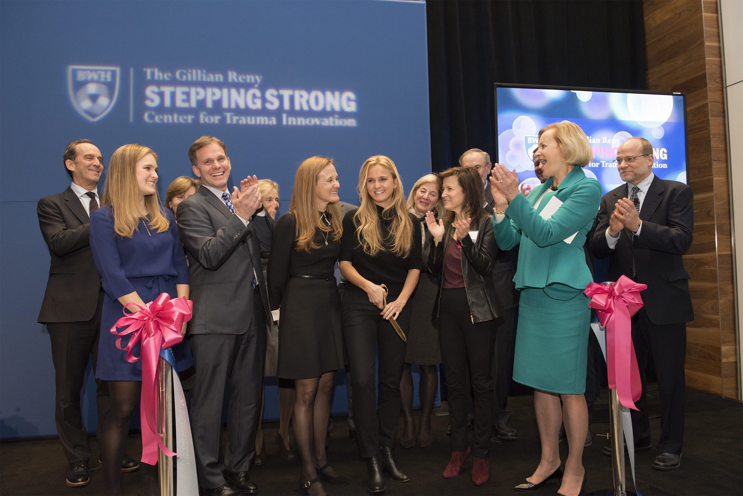Audrey Reny Epstein And Her Family Celebrate The Establishment Of The Gillian Reny Stepping Strong Center For Trauma Innovation At Brigham And Women's Hospital